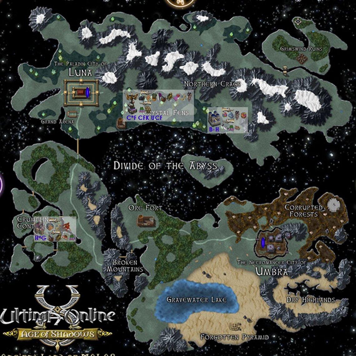 Atlantic:Trade Map: Malas - UOGuide, the Ultima Online Encyclopedia