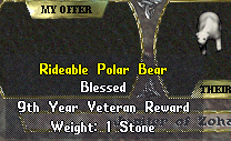 Rideable polar bear statue.png
