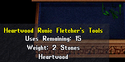 Heartwood runic fletchers tools.png