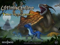 Ultima Online: Time of Legends box art